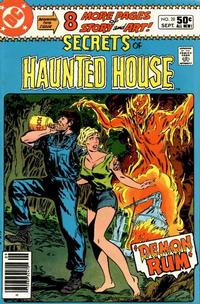 Cover Thumbnail for Secrets of Haunted House (DC, 1975 series) #28