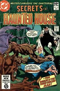 Cover Thumbnail for Secrets of Haunted House (DC, 1975 series) #32 [Direct Sales]