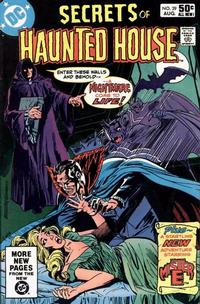 Cover Thumbnail for Secrets of Haunted House (DC, 1975 series) #39 [Direct]