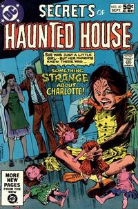 Cover Thumbnail for Secrets of Haunted House (DC, 1975 series) #40 [Direct]