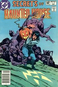 Cover Thumbnail for Secrets of Haunted House (DC, 1975 series) #44 [Newsstand]