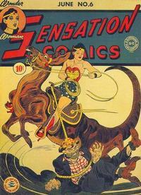 Cover Thumbnail for Sensation Comics (DC, 1942 series) #6