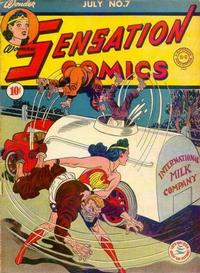 Cover Thumbnail for Sensation Comics (DC, 1942 series) #7