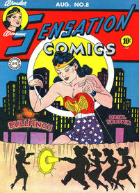 Cover Thumbnail for Sensation Comics (DC, 1942 series) #8