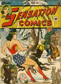 Cover Thumbnail for Sensation Comics (DC, 1942 series) #14