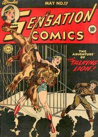 Cover Thumbnail for Sensation Comics (DC, 1942 series) #17