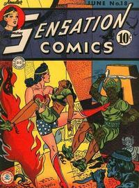 Cover Thumbnail for Sensation Comics (DC, 1942 series) #18