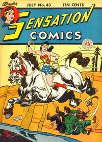 Cover Thumbnail for Sensation Comics (DC, 1942 series) #43