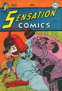 Cover Thumbnail for Sensation Comics (DC, 1942 series) #55