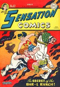 Cover Thumbnail for Sensation Comics (DC, 1942 series) #67