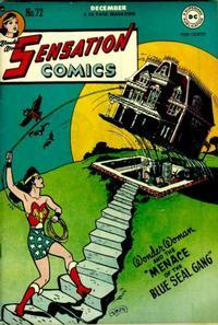 Cover Thumbnail for Sensation Comics (DC, 1942 series) #72
