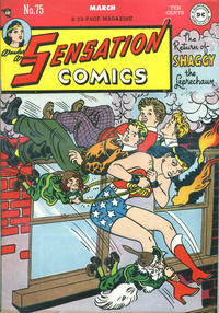 Cover Thumbnail for Sensation Comics (DC, 1942 series) #75
