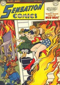 Cover Thumbnail for Sensation Comics (DC, 1942 series) #87