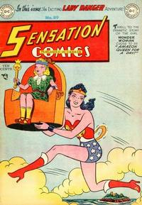 Cover Thumbnail for Sensation Comics (DC, 1942 series) #89
