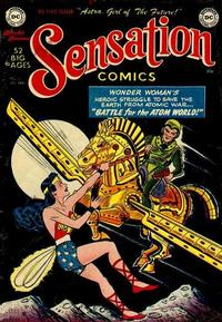 Cover Thumbnail for Sensation Comics (DC, 1942 series) #101