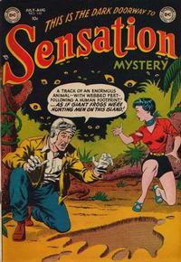 Cover Thumbnail for Sensation Mystery (DC, 1952 series) #110