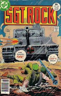 Cover Thumbnail for Sgt. Rock (DC, 1977 series) #305
