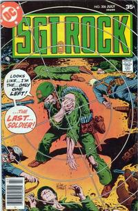 Cover Thumbnail for Sgt. Rock (DC, 1977 series) #306