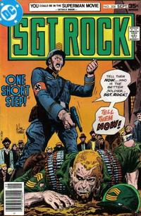 Cover Thumbnail for Sgt. Rock (DC, 1977 series) #308