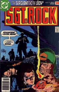Cover Thumbnail for Sgt. Rock (DC, 1977 series) #311