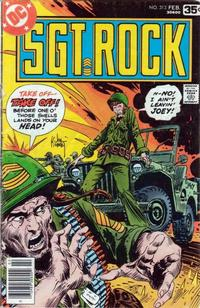 Cover Thumbnail for Sgt. Rock (DC, 1977 series) #313