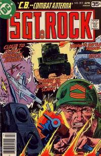 Cover Thumbnail for Sgt. Rock (DC, 1977 series) #315
