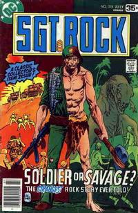 Cover Thumbnail for Sgt. Rock (DC, 1977 series) #318