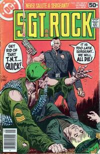 Cover Thumbnail for Sgt. Rock (DC, 1977 series) #320