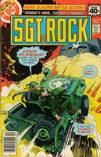 Cover Thumbnail for Sgt. Rock (DC, 1977 series) #323