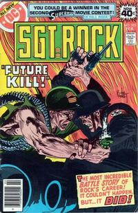 Cover Thumbnail for Sgt. Rock (DC, 1977 series) #325