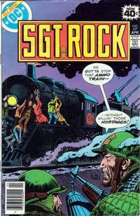 Cover Thumbnail for Sgt. Rock (DC, 1977 series) #327