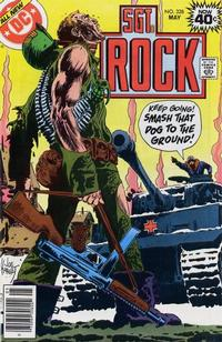 Cover Thumbnail for Sgt. Rock (DC, 1977 series) #328