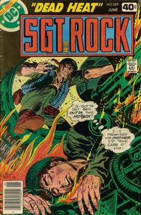 Cover Thumbnail for Sgt. Rock (DC, 1977 series) #329