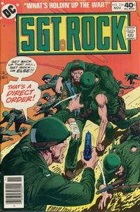 Cover Thumbnail for Sgt. Rock (DC, 1977 series) #334