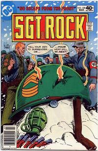 Cover Thumbnail for Sgt. Rock (DC, 1977 series) #338