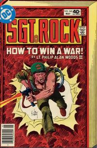 Cover Thumbnail for Sgt. Rock (DC, 1977 series) #340