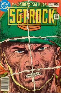 Cover Thumbnail for Sgt. Rock (DC, 1977 series) #342