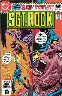 Cover Thumbnail for Sgt. Rock (DC, 1977 series) #345 [Direct Sales]
