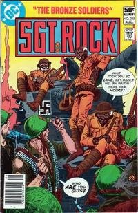 Cover Thumbnail for Sgt. Rock (DC, 1977 series) #355 [Newsstand]
