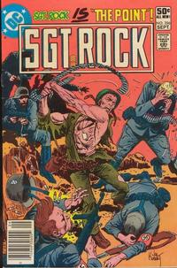 Cover Thumbnail for Sgt. Rock (DC, 1977 series) #356 [Newsstand]