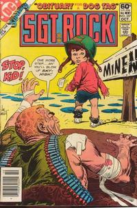 Cover Thumbnail for Sgt. Rock (DC, 1977 series) #357 [Newsstand]