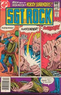 Cover Thumbnail for Sgt. Rock (DC, 1977 series) #359 [Newsstand]