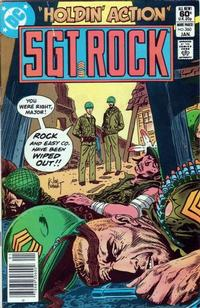 Cover Thumbnail for Sgt. Rock (DC, 1977 series) #360 [Newsstand]