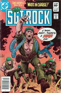 Cover for Sgt. Rock (DC, 1977 series) #362 [Direct Sales]