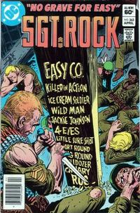 Cover Thumbnail for Sgt. Rock (DC, 1977 series) #363 [Newsstand]