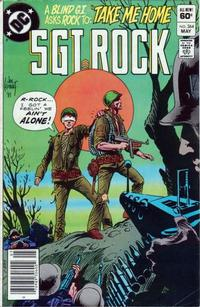 Cover Thumbnail for Sgt. Rock (DC, 1977 series) #364 [Newsstand]