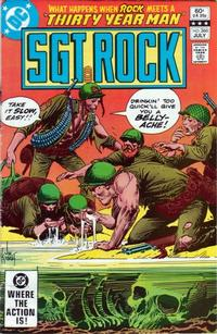 Cover Thumbnail for Sgt. Rock (DC, 1977 series) #366 [Direct]
