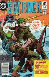 Cover Thumbnail for Sgt. Rock (DC, 1977 series) #368 [Newsstand]
