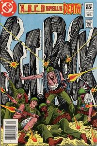 Cover for Sgt. Rock (DC, 1977 series) #371 [Direct]