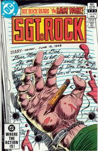 Cover Thumbnail for Sgt. Rock (DC, 1977 series) #372 [Direct Sales]